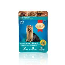 Smart Heart Chicken And Liver Chunk In Gravy, 80g (Pack of 12)