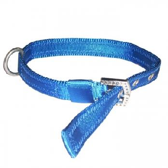 Pets Friend Nylon Padded Color Collar for Dog